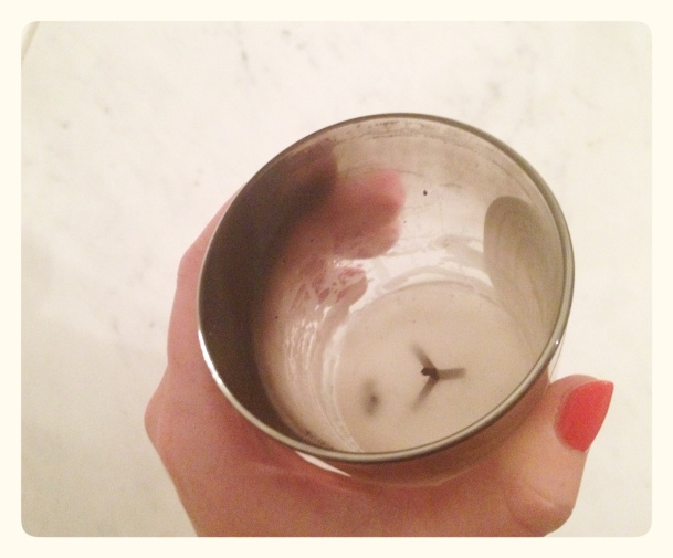 Cleaning out a Diptyque candle
