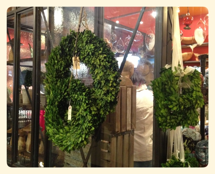 Preserved Boxwood Wreathes Chelsea Market