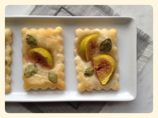 Easy Fig Tarts