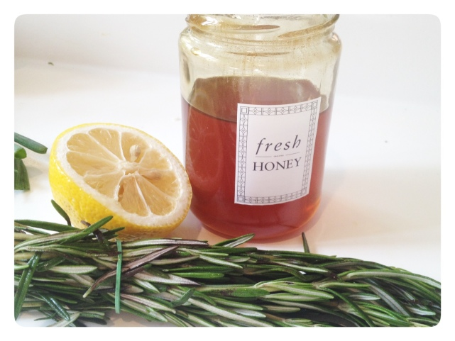 Honey, Lemon and Rosemary