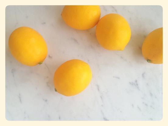 Meyer Lemons Lemoncello